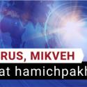 COVID 19 et Taharat Hamichpakha