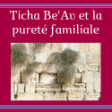 Ticha Be'Av et la pureté familiale